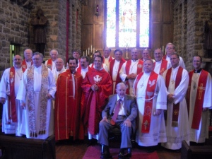 Pastors at the Ordination of Christian C. Tiews